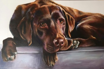 "Oil on Canvas 20"" x 30"""
